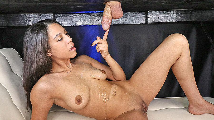 Amber Skye: Drenched in a Cum Avalanche preview image