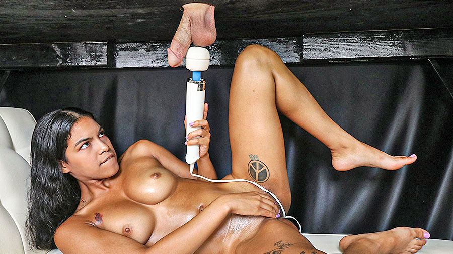 Magic Wand Cock Milking Session preview image